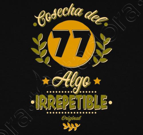 Camiseta Cosecha Del 77 Irrepetible Nº 1249491 Camisetas