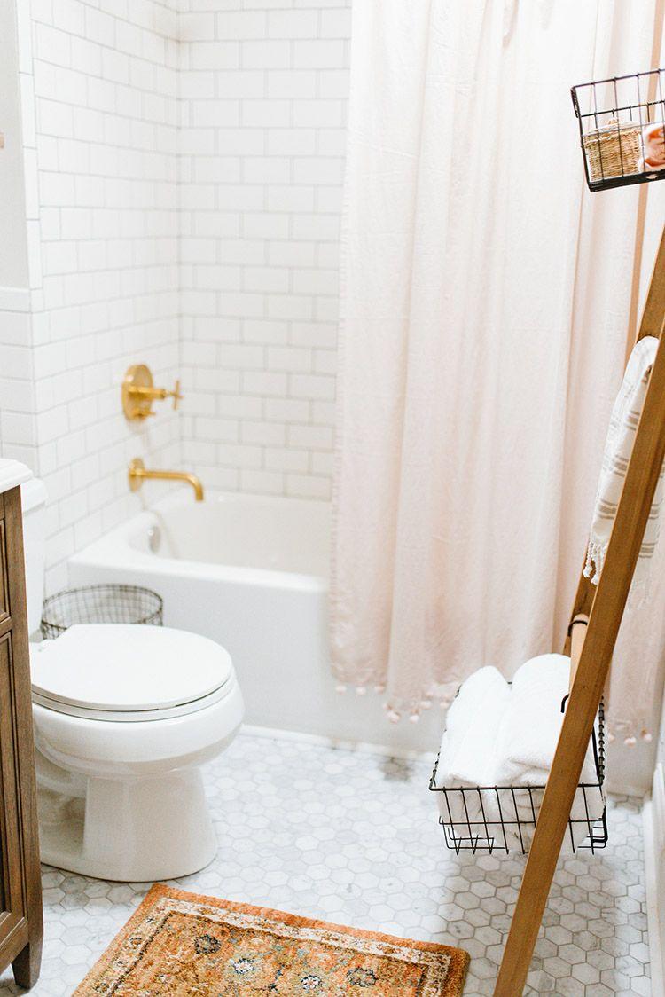Modern Bathroom Remodel - The Home Depot | Pinterest | Orange rugs ...