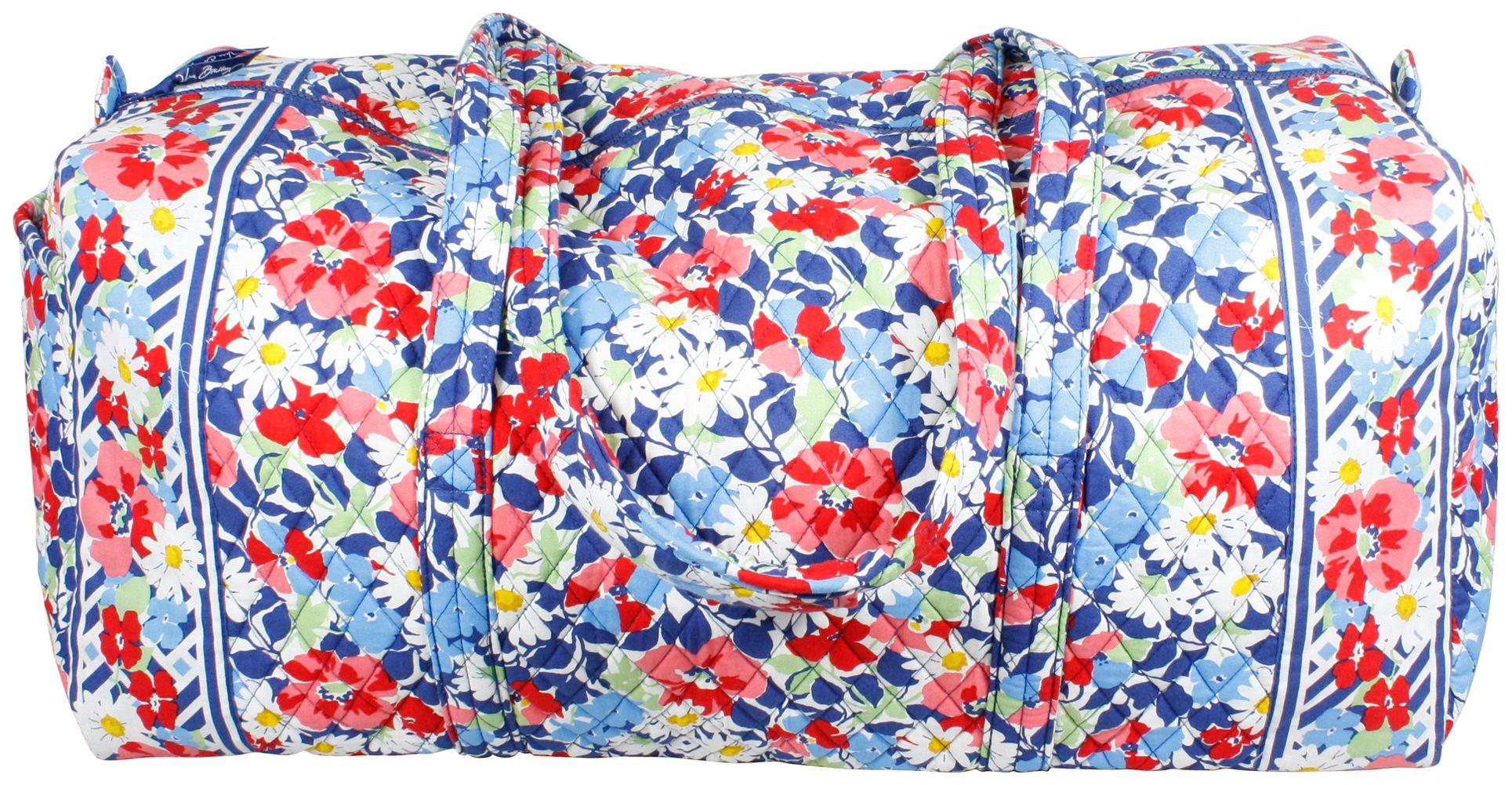 Extra Large Duffel Vera Bradley Summer Cottage Xl Duffle Bag