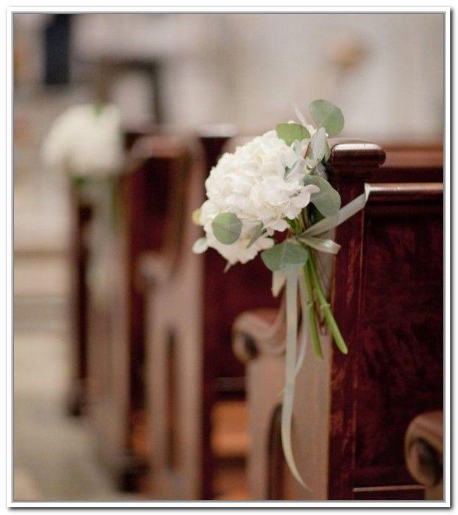 Flower Arrangement For Church Pulpit: Church Pew Flowers For Weddings