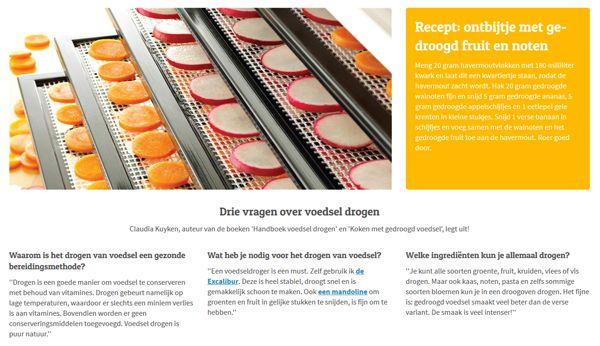 Recept uit het boek: Koken met gedroogd voedsel in Fonq.nl