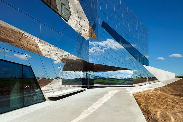 Palaon Research and Experience Centre in Schöningen, Germany by Holzer Kobler