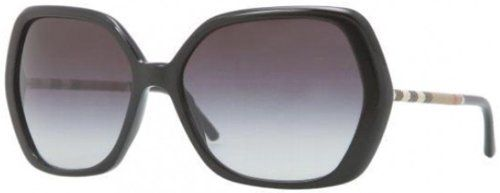1b7821491c2b Burberry BE4122 Sunglasses-3001 8G Black (Gray Gradient Lens)-60mm for only   135.94 You save   152.05 (53%)