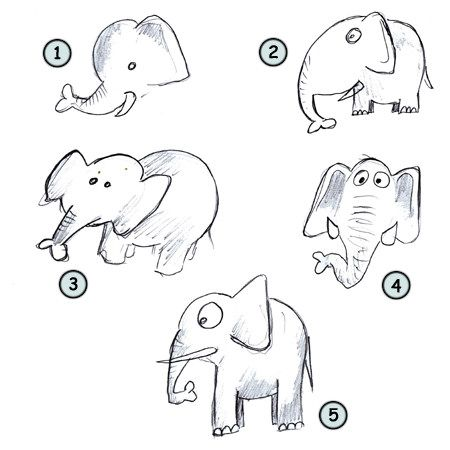 Go back from how to draw cartoon elephants to home page