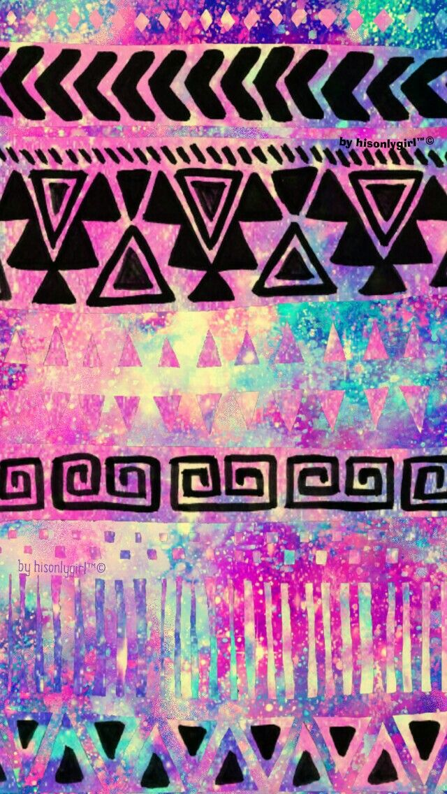 Tribal Galaxy Wallpaper I Created For CocoPPa