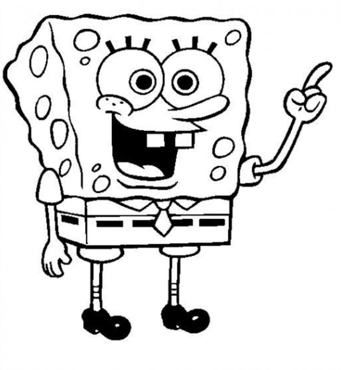Bob L Eponge Spongebob Drawings Spongebob Coloring Spongebob