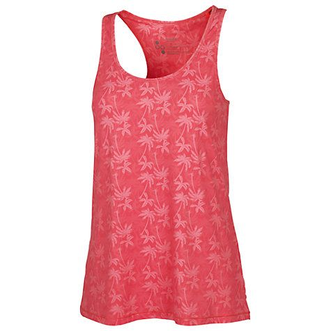 Buy Fat Face Activ88 Mini Palm Vest, Acid Pink Online at johnlewis.com
