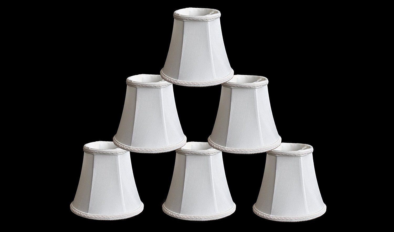 Urbanest 1100465c Set Of 6 Chandelier Mini Lamp Shade 5 Inch Bell Clip On Off White New Offers Awaiting You Dec Mini Lamp Lamp Shades White Lamp Shade