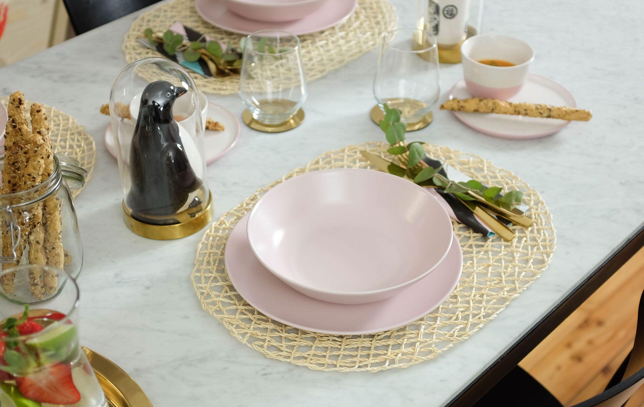 DINERA Piatto fondo, rosa pallido IKEA IT | Piatti rosa