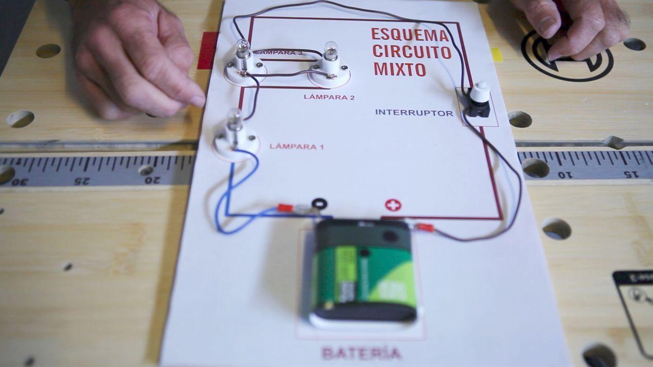 Circuito Y : Circuito eléctrico mixto circuitos y