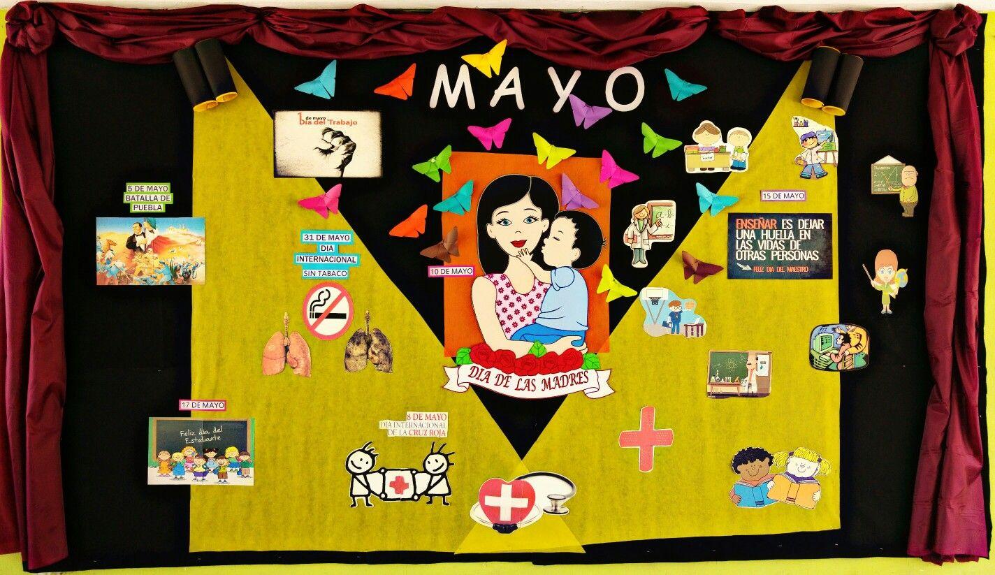 Periodico Mural Mayo 2016 Con Imagenes Periodico Mural