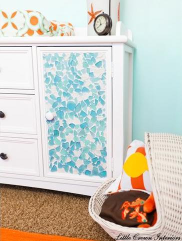 stunning sea glass mosaic diy ideas mosaic diy sea glass mosaic