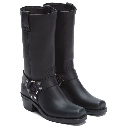 Frye Boots Harness 12R Black for woman. International shipping -> free  shipping in Europe
