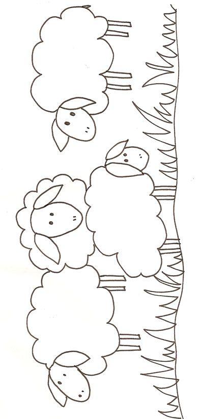 mouton | ΠΑΤΡΟΝ ΠΕΤΑΛΟΥΔΕΣ ΠΑΣΧ.ΑΥΓΑ | Pinterest | Bordado, Patrones ...