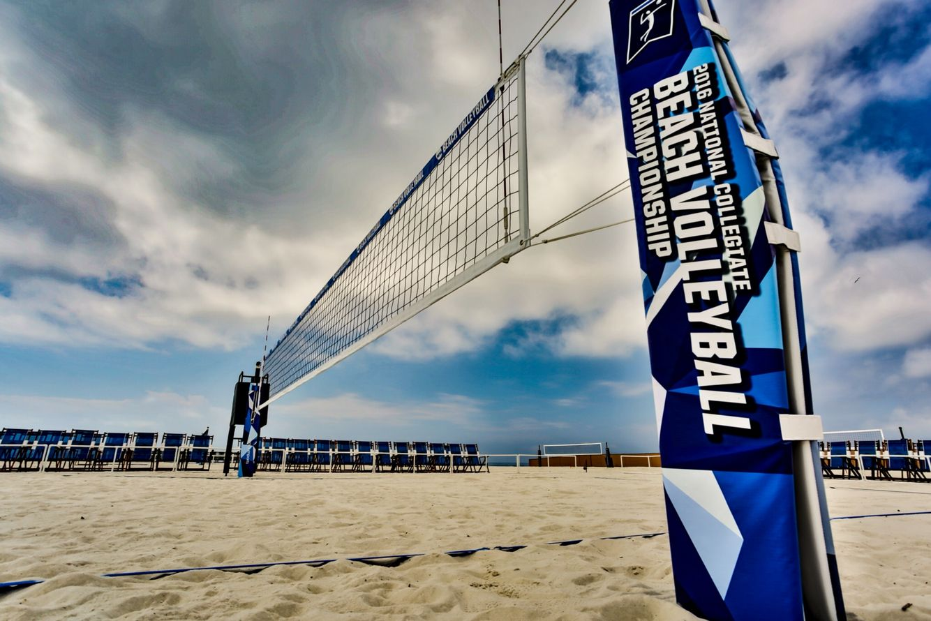 2016 Ncaa Beach Volleyball Championship Outdoor Volleyball Net Volleyball Beach Volleyball