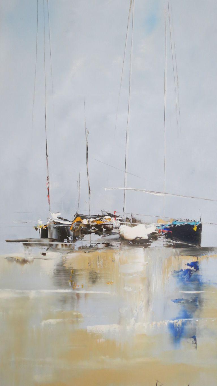 Bruno klein allure 100x40 art ocean marines for Bruno klein peintre