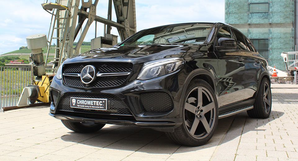 Mercedes Gle 350d Coupe Tuned By Chrometec To 300 Ps 700 Nm Met