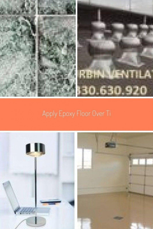 Apply Epoxy Floor Over Tiles Apply Epoxy Coatings To Tile Flooring Epoxyflo Har In 2020 Mit Bildern