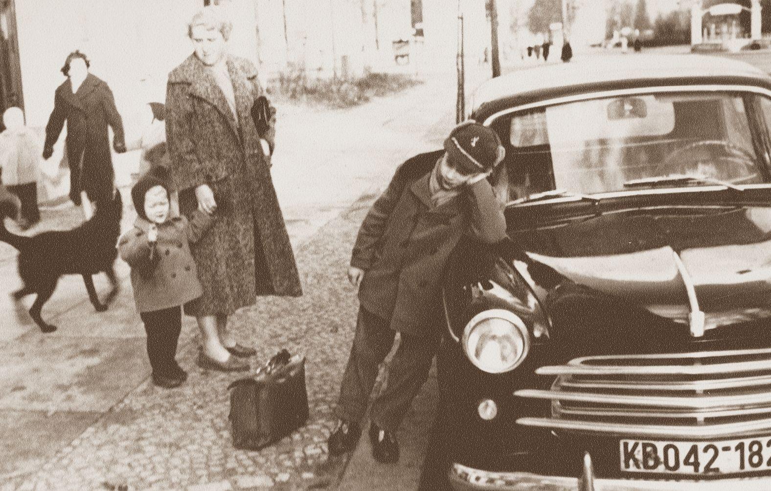 Warten (Hohenzollerndamm ca. 1956)