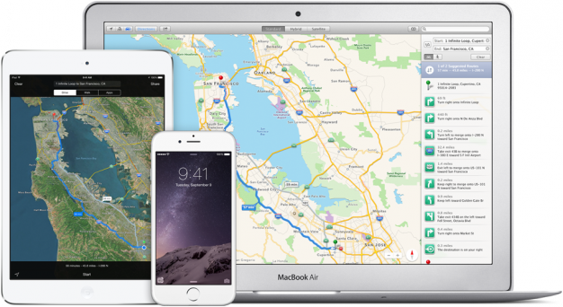 Apple Maps for iOS 8 and iPhone 6 Heres What You Need to Know