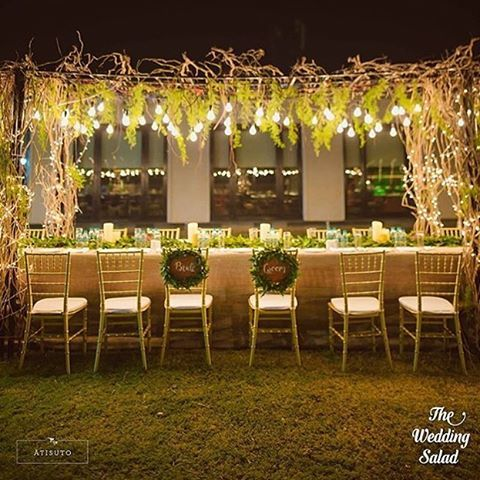 Rustic Chic For A Pre Wedding Sit Down Dinner Is Such A Great Theme Decor By Atisuto Events Shot By Thewedd Wedding Decorations Bride Groom Chairs Wedding