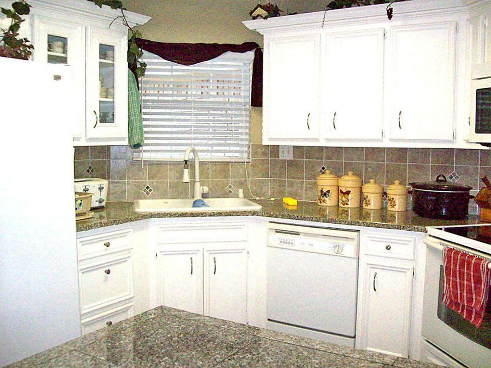 Corner Sink Small Kitchen Design Ideas Kitchen Design Small Kitchen Remodel Small Small Space Kitchen