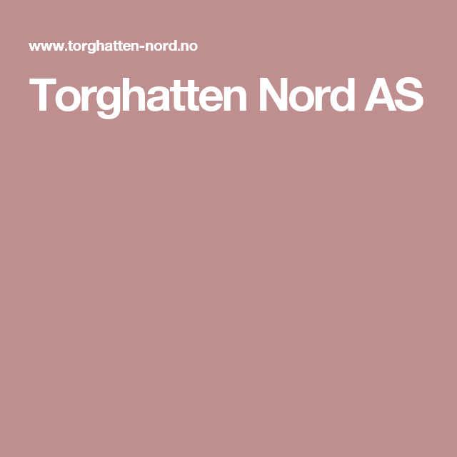 Torghatten Nord AS