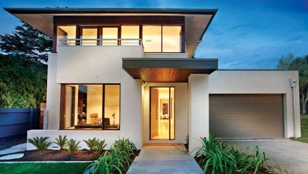 Fachadas de casas modernas de 10 mts de frente cesar for Casas modernas en washington