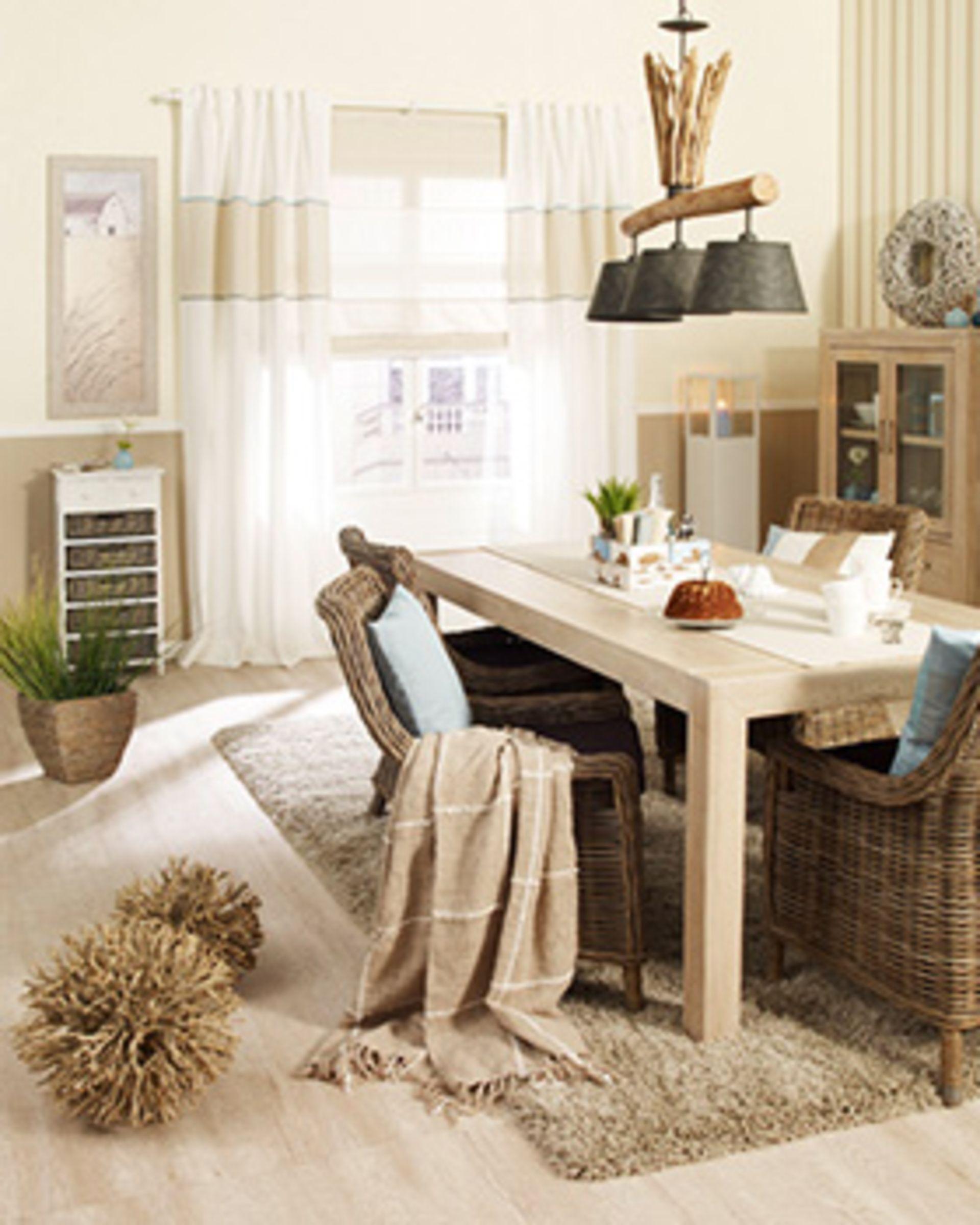 Ein Esszimmer aus der Wohnwelt Long Island | Strandhaus | Pinterest ...