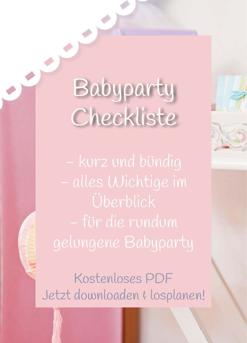 babyparty deko spiele und geschenke baby belly party baby baby baby shower deko und party. Black Bedroom Furniture Sets. Home Design Ideas