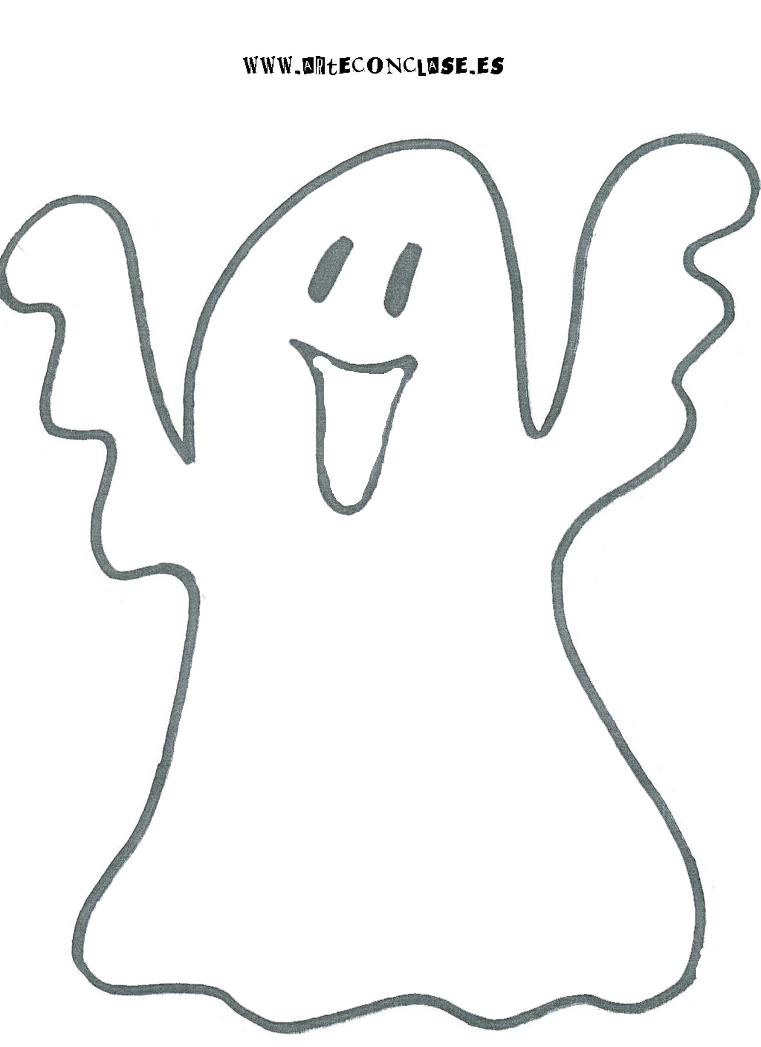 Fantasma Para Halloween Svg Files Halloween Coloring