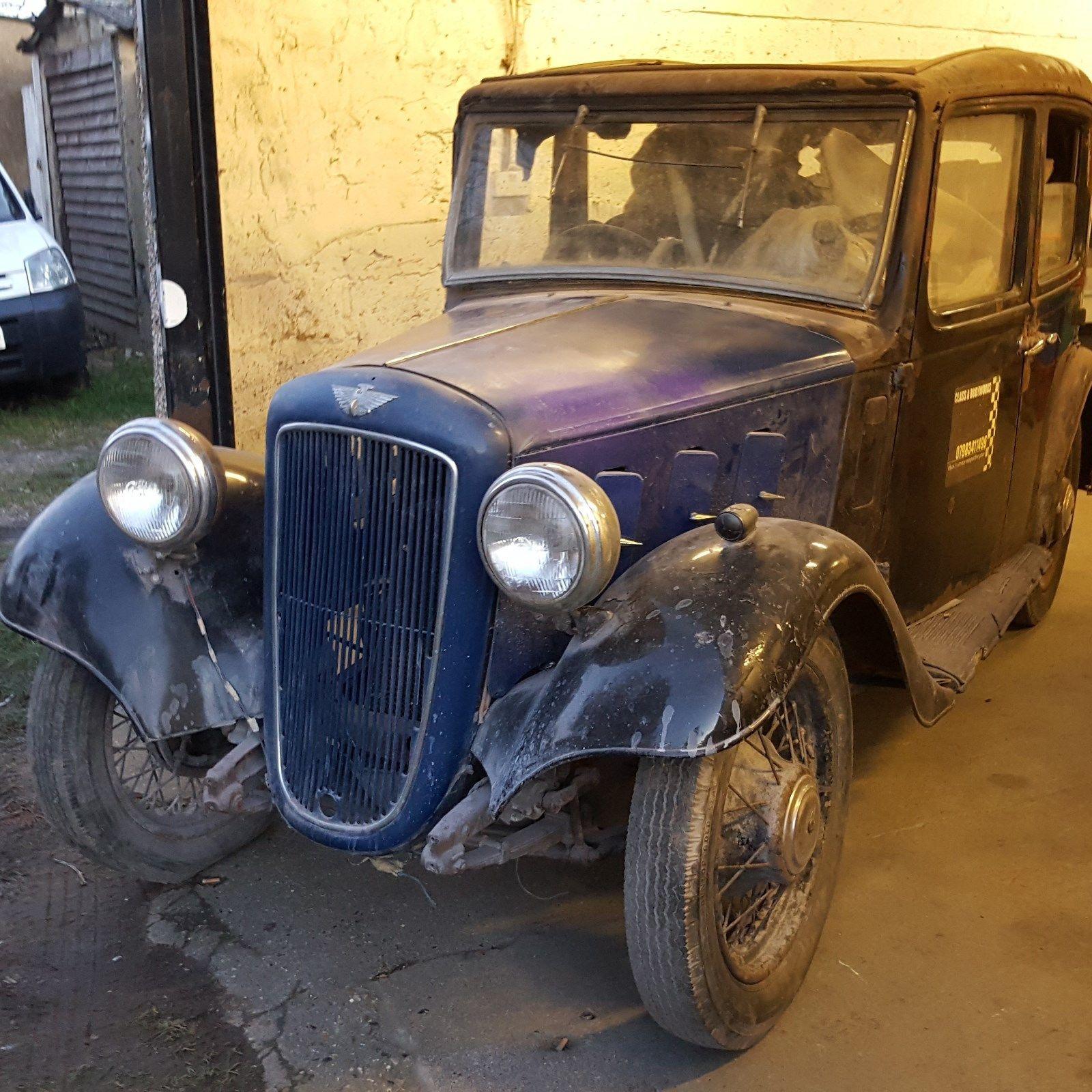 1935 austin 10 lichfeild, barnfind condition, unrestored ...