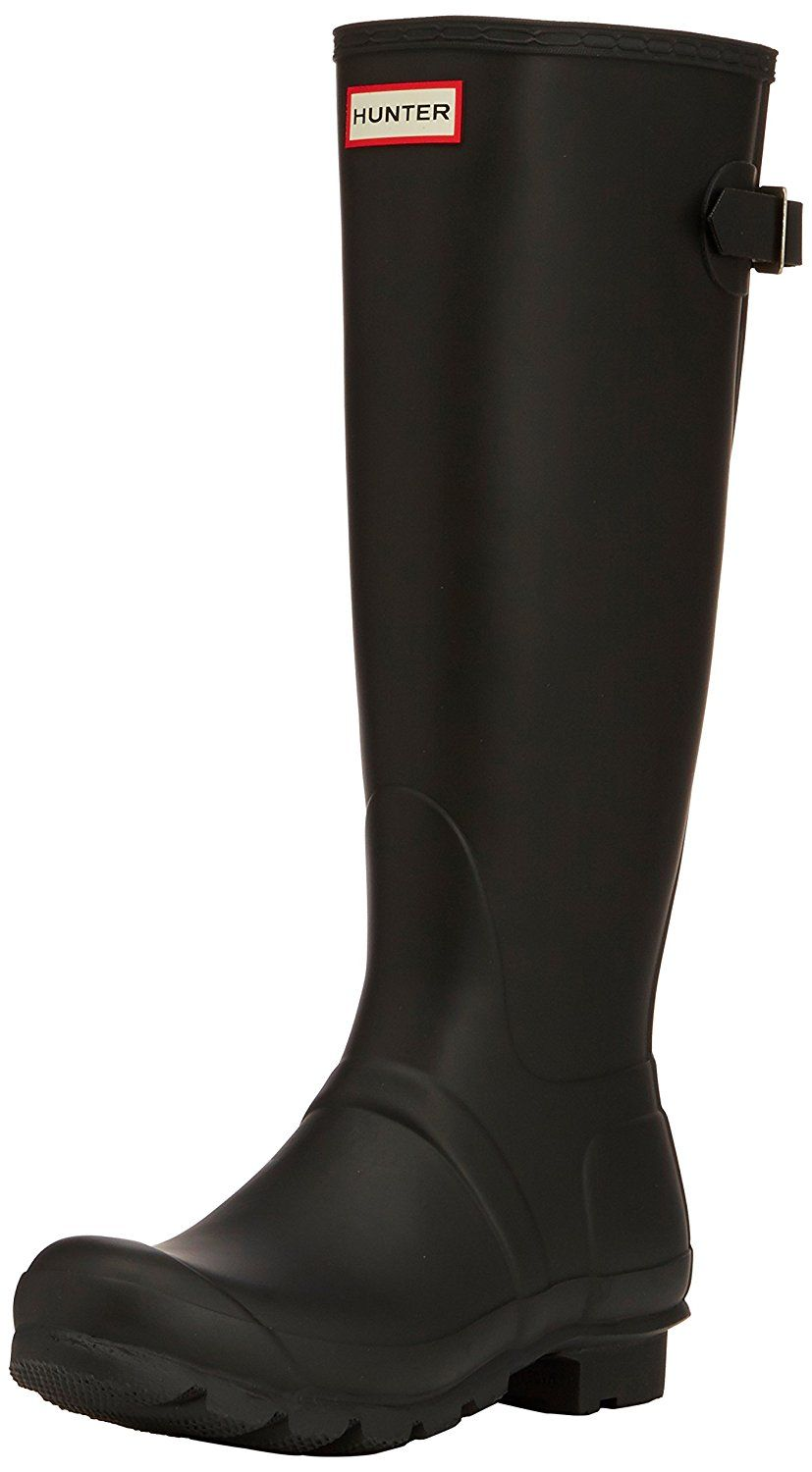f1a0358f103 Hunter Womens Original Back Adjustable Rain Boot -- Read more reviews of  the product by visiting the link on the image.