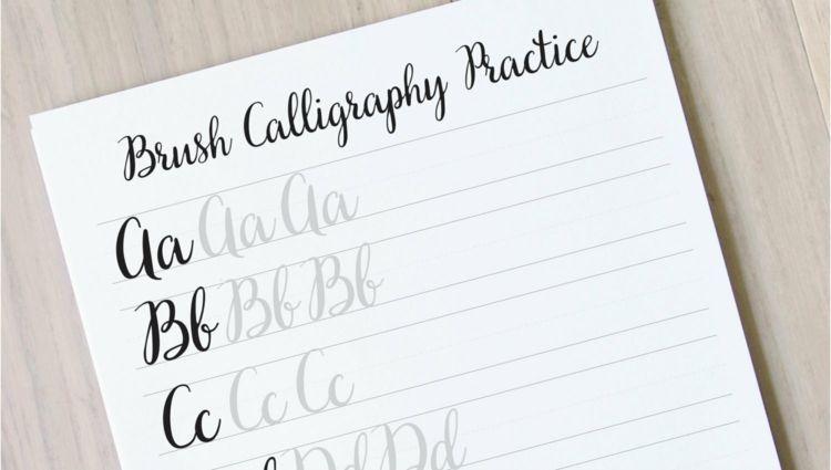 Kalligraphie Lernen Und Schone Schriftarten Gestalten Was Sie