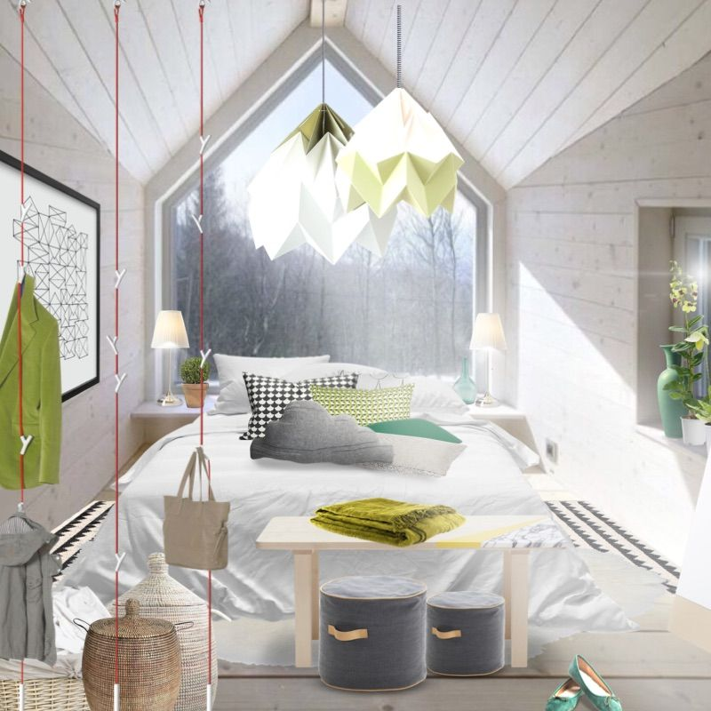 Empty Template To Design For Sharon Sherrie Scandi Bedroom By Aleksandra Paradowska Created In Neybers