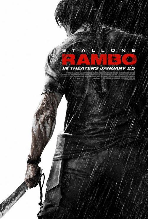 Rambo Iv Lixeira Carro Rambo Cartazes De Filmes