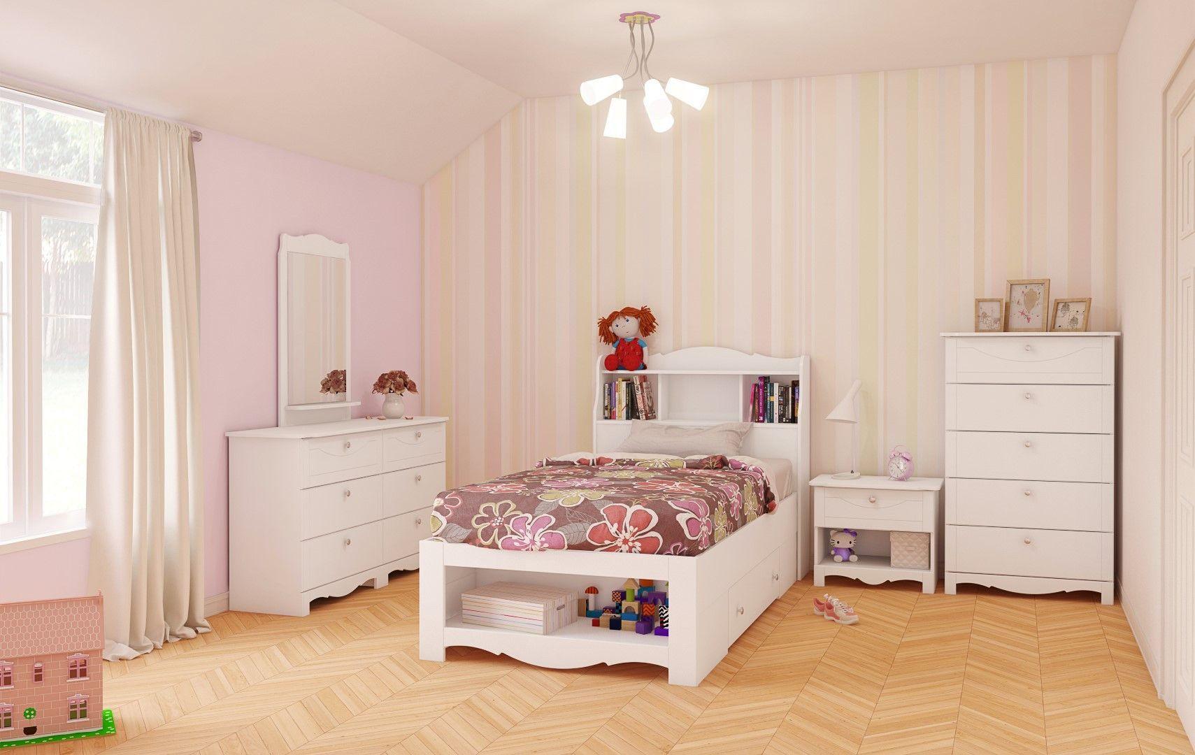 Nexera Dixie Storage Bed And Nightstand