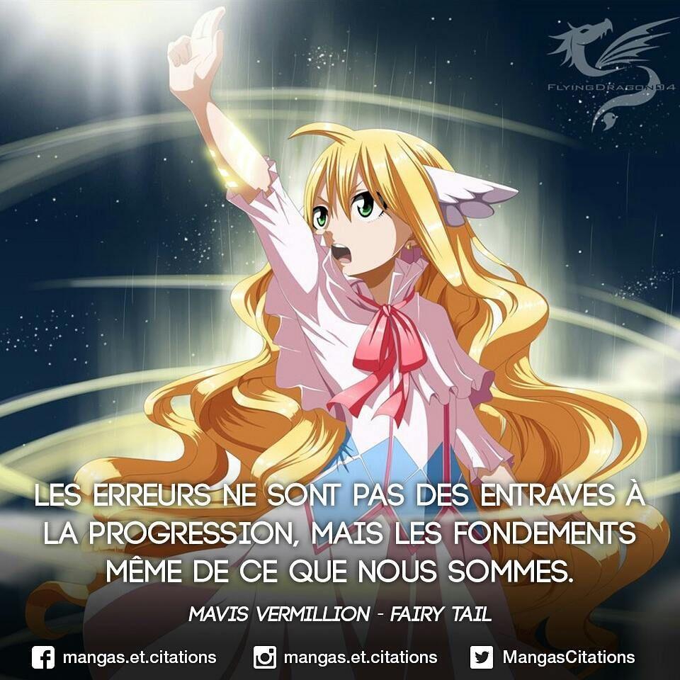 Les Fees Ont Elles Une Queue Citation Manga Fairy Tail