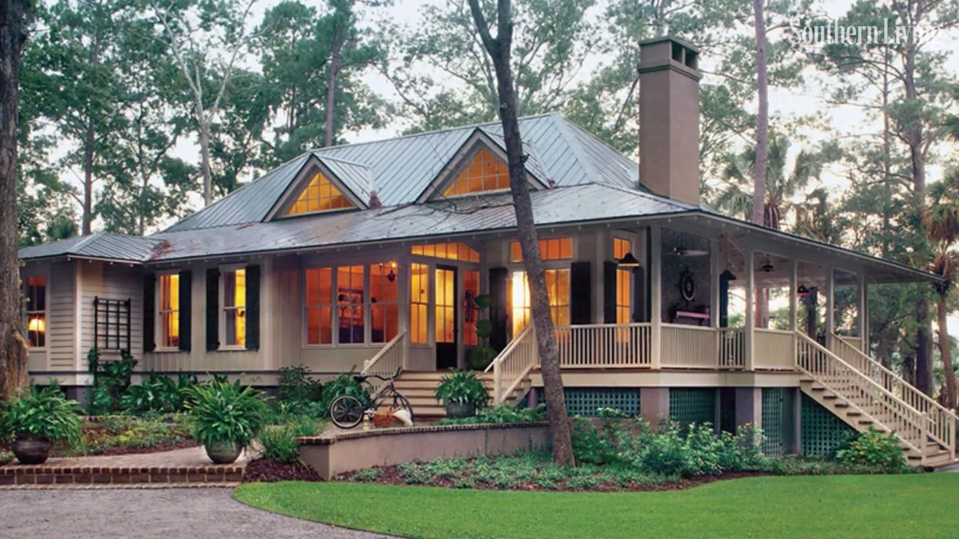6 Tips For Living In A 660 Square Foot Cottage Southern House Plans Lake House Plans Retirement House Plans