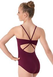 Strappy Pinch-Back Leotard