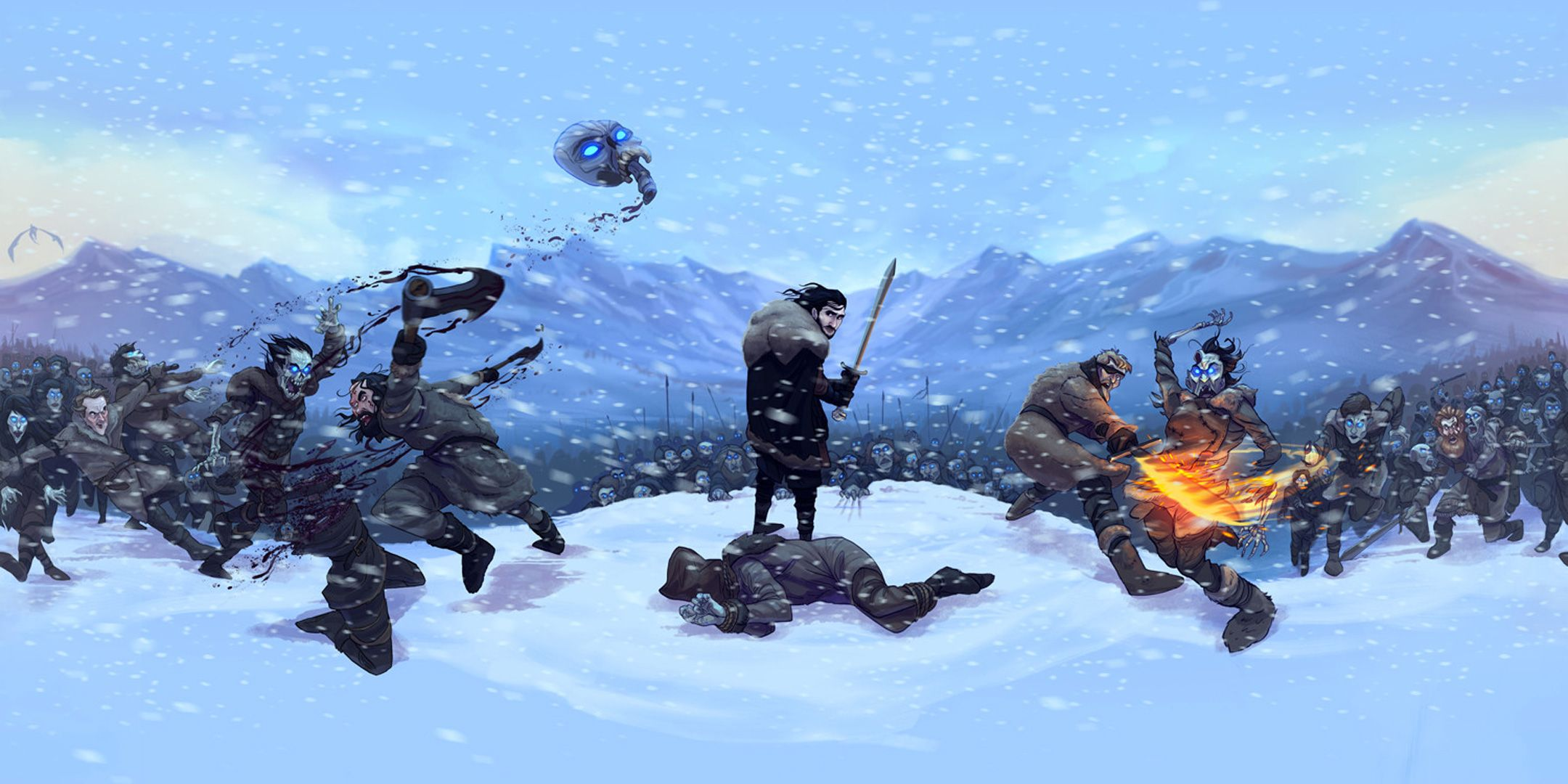 Game Of Thrones Beyond The Wall V7 Ultra Hd Wallpaper 2018