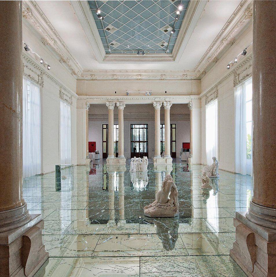 Rome Galeria: Pavimento Di Specchi Infranti, Alfredo Pirri, Galleria