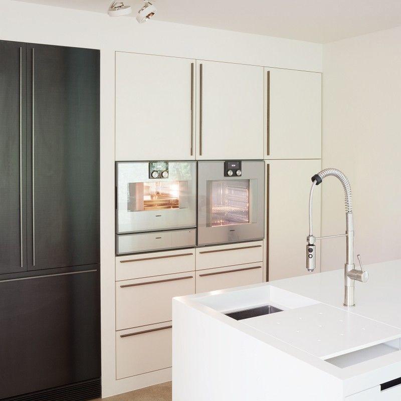 Detail der Doppelspüle mit Funktionsbecken. | plan 3 küche ...