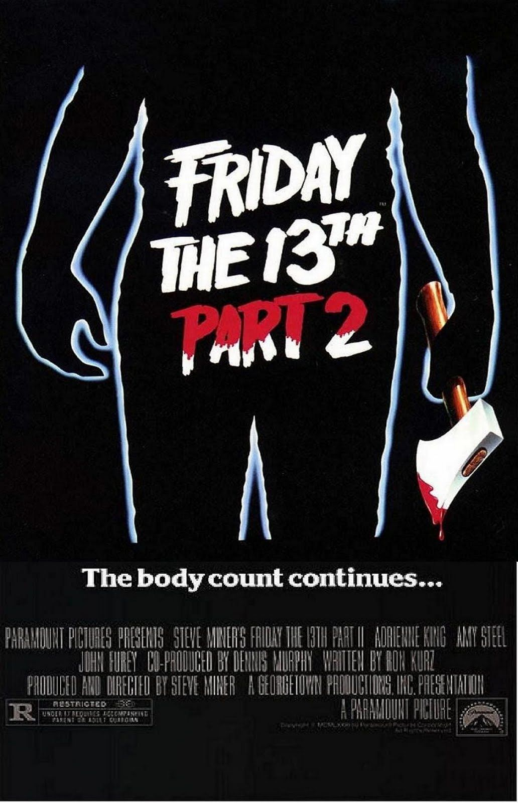 friday the 13th 1980 friday the 13th part 2 paramount