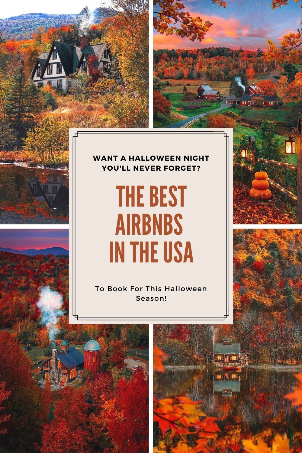 Best Airbnbs You Ll Want To Stay In For Halloween In 2020 Travel Usa Vacation Usa United States Travel Destinations