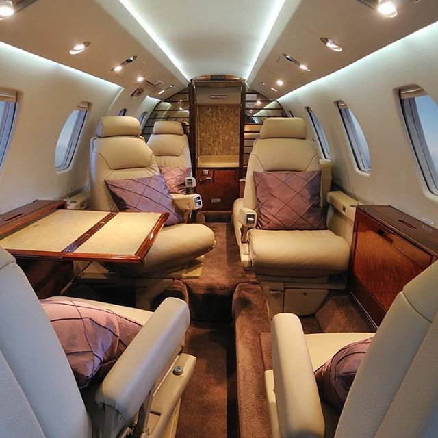 Inside The Cessna Citation Iii Private Jet Seats 9 People Seller Western Aviation Inc Price 900 000