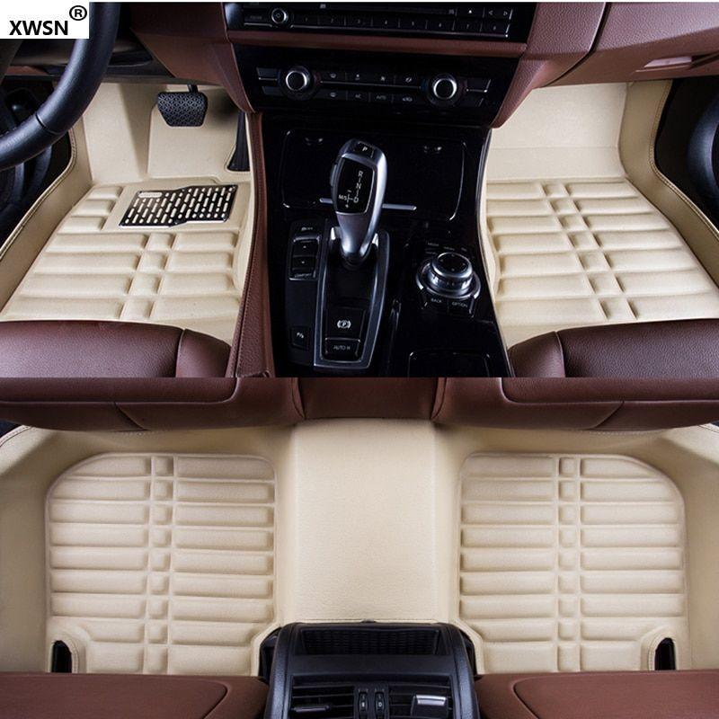 Cheap Custom Car Floor Mats Floor Mats Artificial Leather Rubber