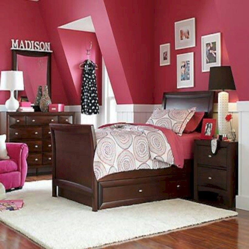 64 Stunning Dark Wood Bedroom Furniture Ideas Girls Bedroom Sets