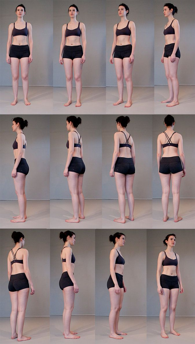 Full Body Turn Around Stock Pack by =Kxhara on deviantART