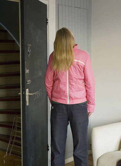 door person hair